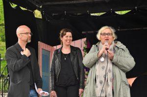 """""""Uten frivilligheten stopper Norge"""" hevder prosjektleder for Frivilligdagen, Esther Marie Lier, også daglig leder av Ullern Frivilligsentral. Foto: Carolina Malbrán"""