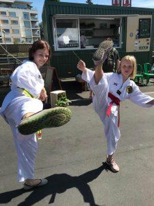 Tojang Taekwondo Klubb deltok ivrig i år også.